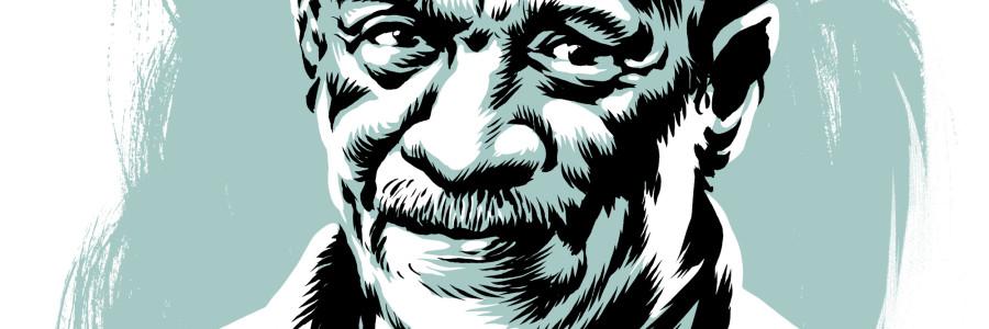 Derek Walcott (januari 1930 – maart 2017)
